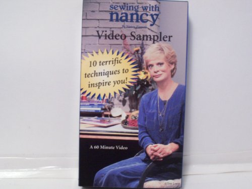 (Sewing with Nancy - Video Sampler {10 Terrific Techniques to Inspire You!} A 60 Minute Video)