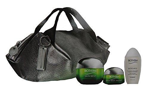 Biotherm Skin Best X Mandarin Duck Coffer: Cream SPF15 N/C 50ml + Night Cream 15ml + BioSource Cleansing Water 30ml + Handle Bag, 1 Count