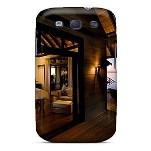 For Galaxy S3 Fashion Design Evening In Luxury Water Villa Case-EffjnPl3893nIjGS