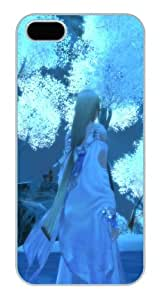 Apple iPhone 5/5S Case,Beautiful Girl `s Back iPhone 5/5S Hard Shell PC Case
