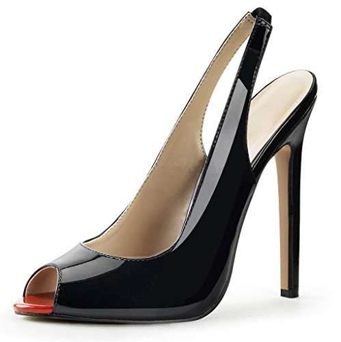 Zapatos azul marino Kolnoo para mujer 0pGSp