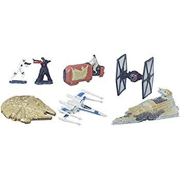 Star Wars: The Force Awakens Micro Machines Deluxe Vehicle Pack Battle for Jakku