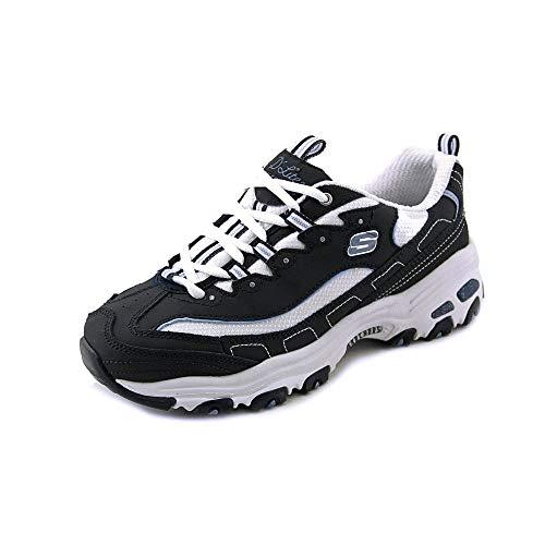Skechers D'Lites 爆款熊猫鞋,最火黑色/白色款都是白菜价!
