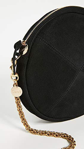 V Circle Chain Women's Clare with Black Clutch Strap 8qx4xnd