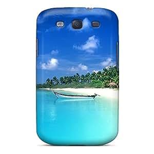High Grade Richavans Flexible Tpu Case For Galaxy S3 - Beach Of Cova