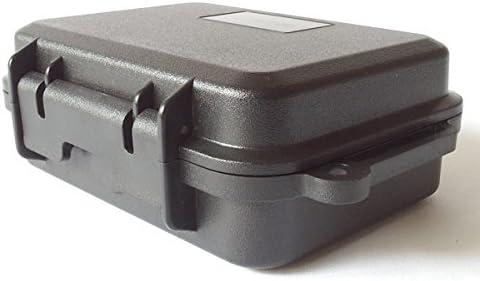 Waterproof Funda kunststoff-box CAMPING outdfoor Botas SURVIVAL CAJA DE SEGURIDAD PARA P. EJ. iPhone Foto Lente Tiempo golpes a prueba de polvo 161x110x52 Mm Modelo: wpc01: Amazon.es: Electrónica