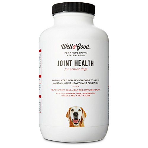 Well & Good Senior Stage Joint Support Dog Tablets, 90 tablets
