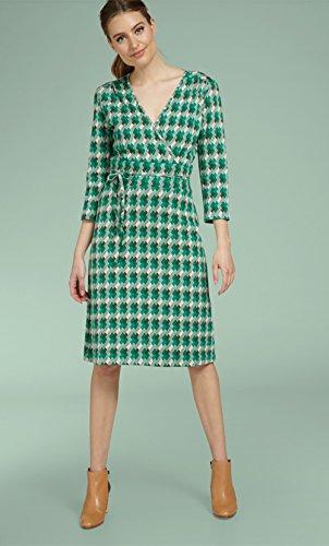 Kleid Green Avar Avar Dress King Cecil Green Louie Downtown 51TO8U