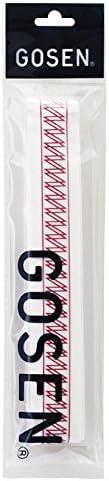 ゴーセン(GOSEN) オーバーグリップ Dコブタイプ ホワイトレッド B813WR ホワイトレッド
