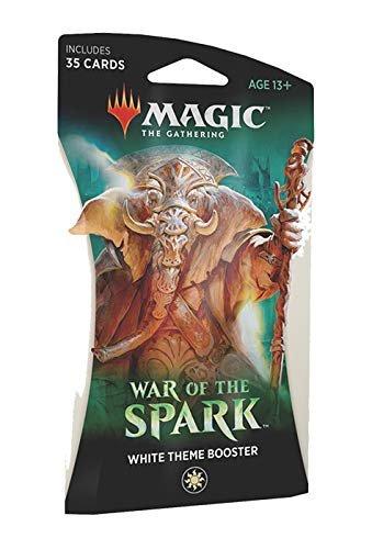 - Magic The Gathering: War of The Spark - Theme Booster Pack - White