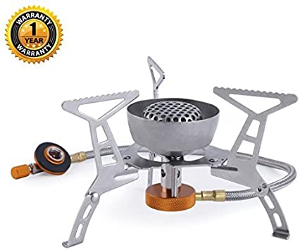 Windproof Portable Foldable Outdoor Cooking Camping Stove Butane Gas Burner D
