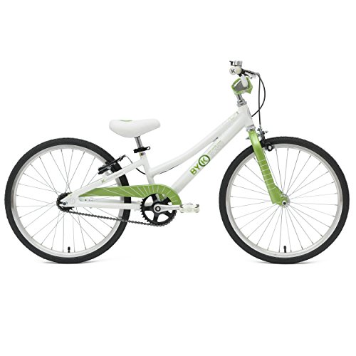 ByK E-450 Kid's Bike, 20 inch Wheels, 10 inch Frame, for Boys and Girls, Lime - Frames Australia Profile