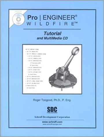 """Pro-e wildfire 5. 0 tutorial 4""""bolt and nut"""" by helical sweep."""