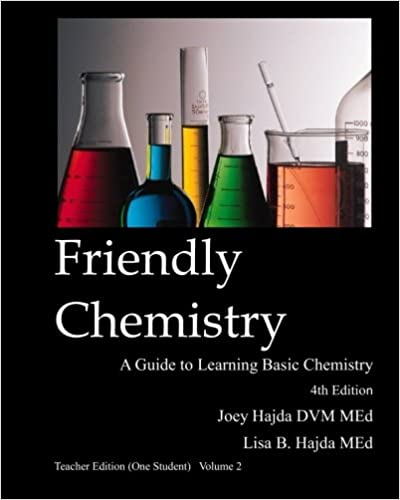 Amazon com: Friendly Chemistry Teacher Edition (One Student) Volume
