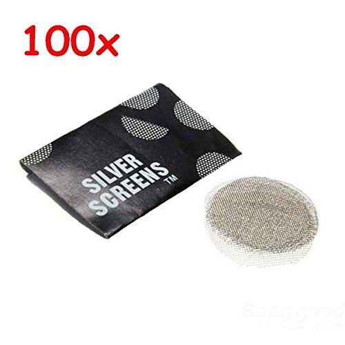 100pcs 19mm Smoking Tobacco Pipe Filter Screens