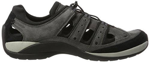 camel active Moonlight 12, Zapatillas para Hombre Gris (dk.grey/black 06)