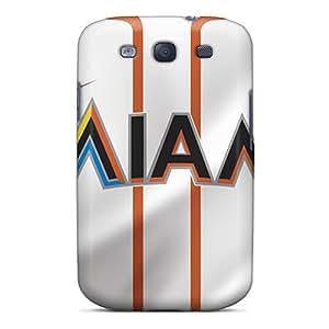 LisaSwinburnson Samsung Galaxy S3 Perfect Cell-phone Hard Covers Unique Design Vivid Miami Marlins Pictures [zZR7634ANVQ]