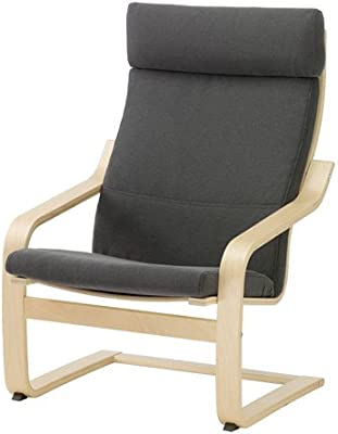 Ikea Chair, birch veneer, Finnsta gray 8202.29214.2214