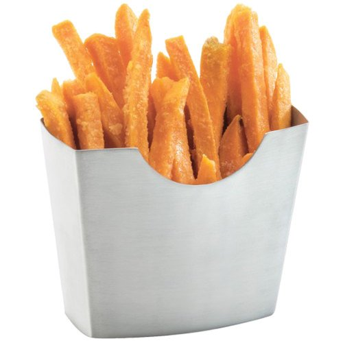 Cal-Mil 3441-55 4 1/2'' x 2 1/2'' Stainless Steel French Fry Holder