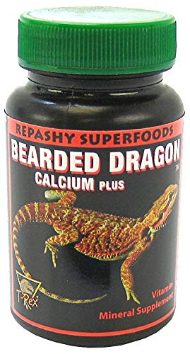 T-REX Repashy Superfoods Bearded Dragon Calcium Plus Vitamin Mineral Supplement 1.75 Ounces