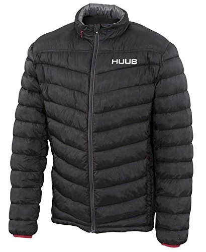 HUUB(フーブ) キルティングジャケット ブラック(Black) L   B06X3VNRK4