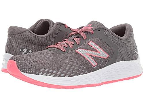 New Balance Women's Arishi V2 Fresh Foam Running Shoe, Gray/Guava, 9 M US