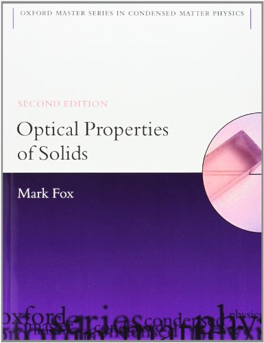 Optical Properties of Solids (Oxford Master Series in Physics) from imusti