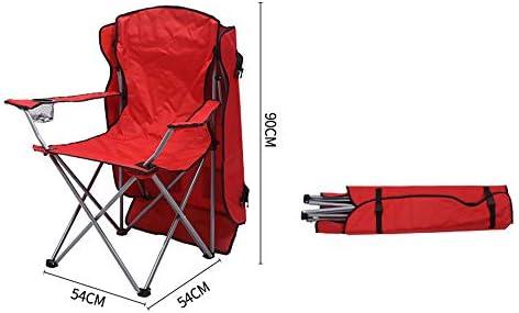 Outdoor draagbare Sunscreen Chair, Oxford Doek Folding Beach Chair,C