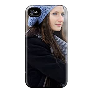 4/4s Scratch-proof Protection Case Cover For Iphone/ Hot Girl Winter Phone Case
