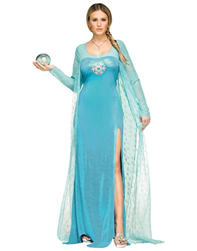 Fun World Women's Plus Size Ice Queen Costume,