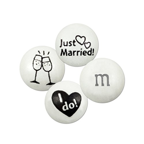 Personalized M And Ms (M&Ms Just Married - I Do - Blend 2lb)