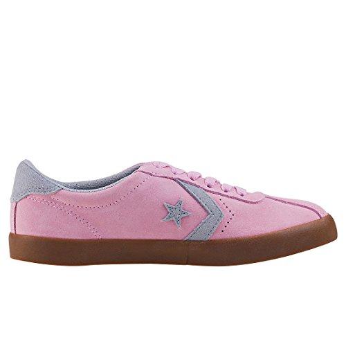 Converse Breakpoint OX Cherry Blossom/Wolf Grey, Zapatillas Unisex Niños Rosa