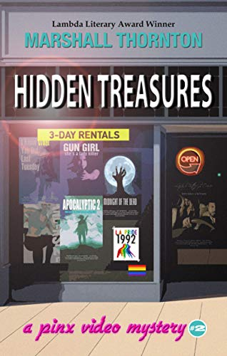 Hidden Treasures (Pinx Video Mysteries Book 2)