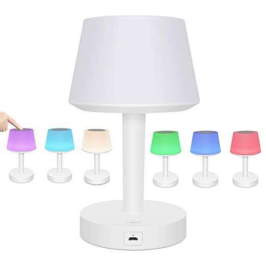 Amazon.com: CYBORIS - Lámpara de mesa LED con altavoz ...