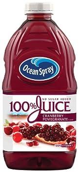 Ocean Spray 100% Juice Cranberry And Pomegranate Juice