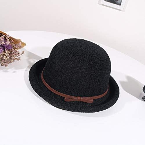 geiqianjiumai Sombreros de Felpa de Chenilla para Mujer Sombreros ...