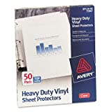 AVE73907 - Avery Top-Load Vinyl Sheet Protectors