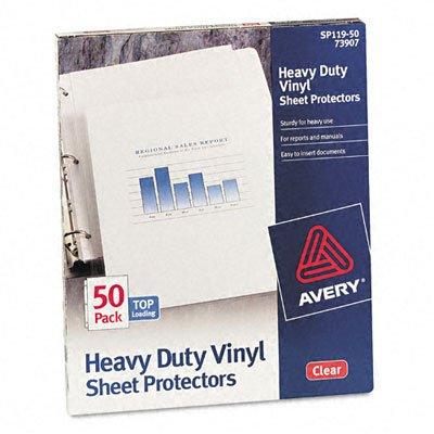 AVE73907 - Avery Top-Load Vinyl Sheet Protectors