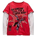Disney Double-Up Long Sleeve Spider-Man Tee
