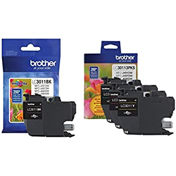 Amazon.com: Brother Printer LC3011Y Single Pack Standard ...
