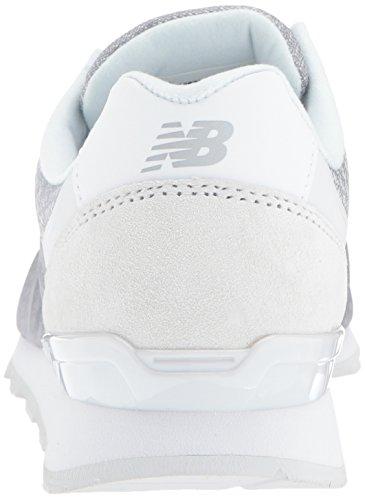 New Balance Frauen 696 v1 Sneaker Weiß / Schockwelle