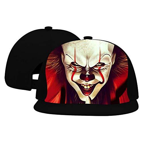 Unisex Penny-Wise Terror Hip Hop Baseball Cap Adjustable Cowboy Hat Black]()