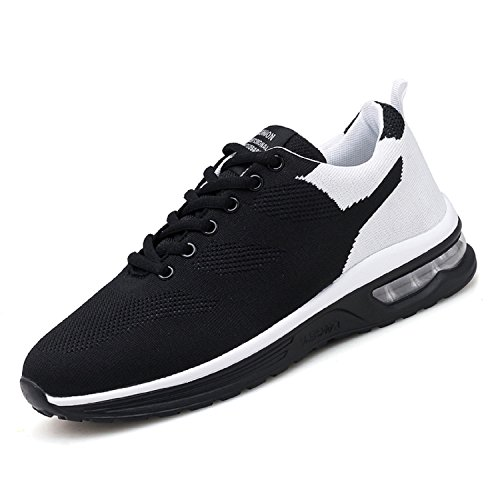 Chaussures Outdoor Blanc de Noir Fitness H Multisports Hommes athlétique Respirantes Gym Basket Sneakers Course Sport Mastery Running at6w6E