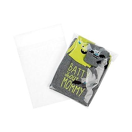 ClearBags 6 x 7,5 + Bolsas transparentes con cierre adhesivo ...