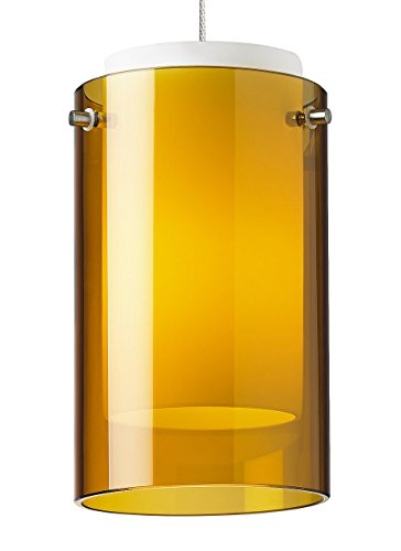 Echo Pend - Tech Lighting 700MO2ECPAS-LEDS830 MO2-Mini Echo Pend amber, sn LED