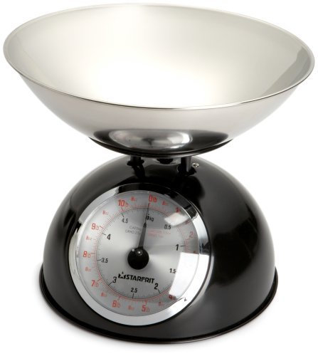 Starfrit Kitchen Scale with Stainless Steel Bowl by Starfrit