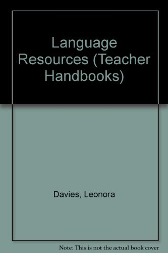Language Resources (Teacher Handbooks) by Davies Leonora Leibe Frankie Matthews Julia (1987-01-01) Paperback