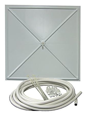 inbrella 100 white polystyrene plastic ceiling tile leak diverter