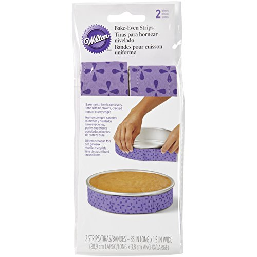 Wilton 415 0795 2 Piece Bake Even Strip Set