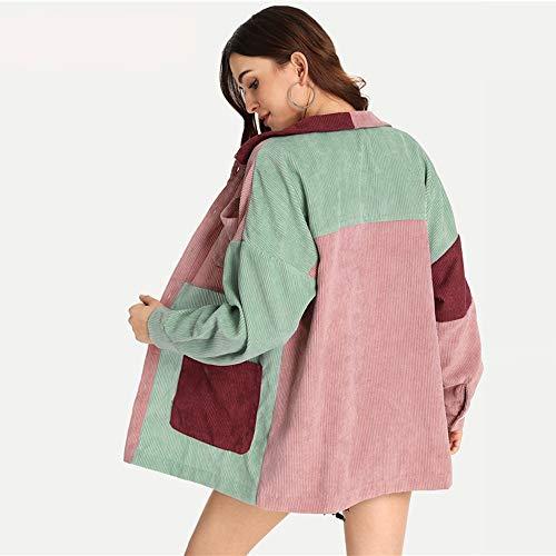 Tasche Con BottoniL Donna Multicolore Da Frontali E DgfhrGiacca 9I2DEH